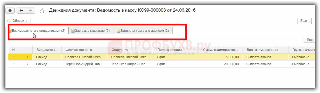 Выплата аванса в 1с 8.3 бухгалтерия госпошлина при первичной регистрации ооо