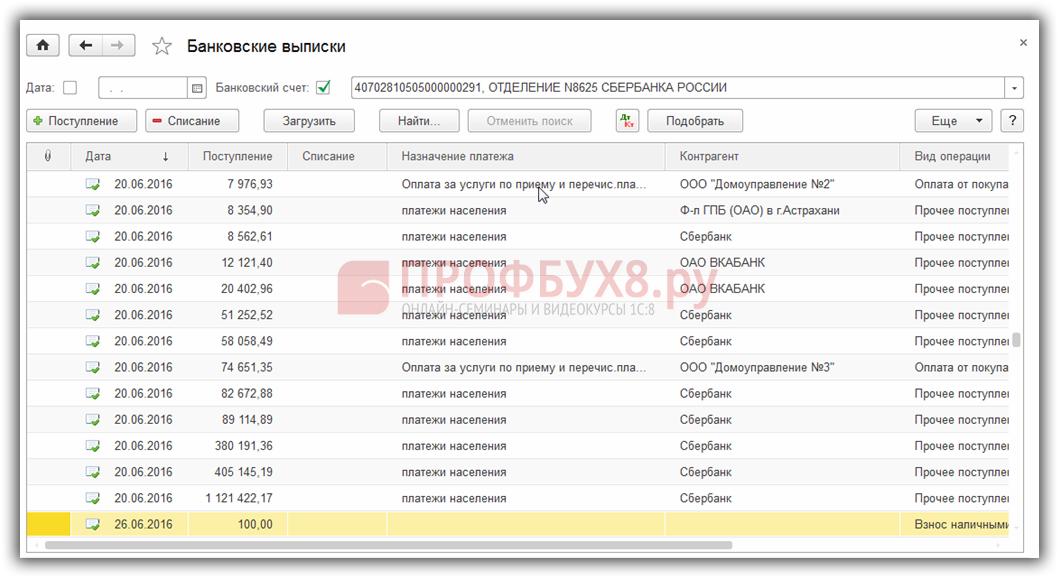 Панель инструментов для работы с документами