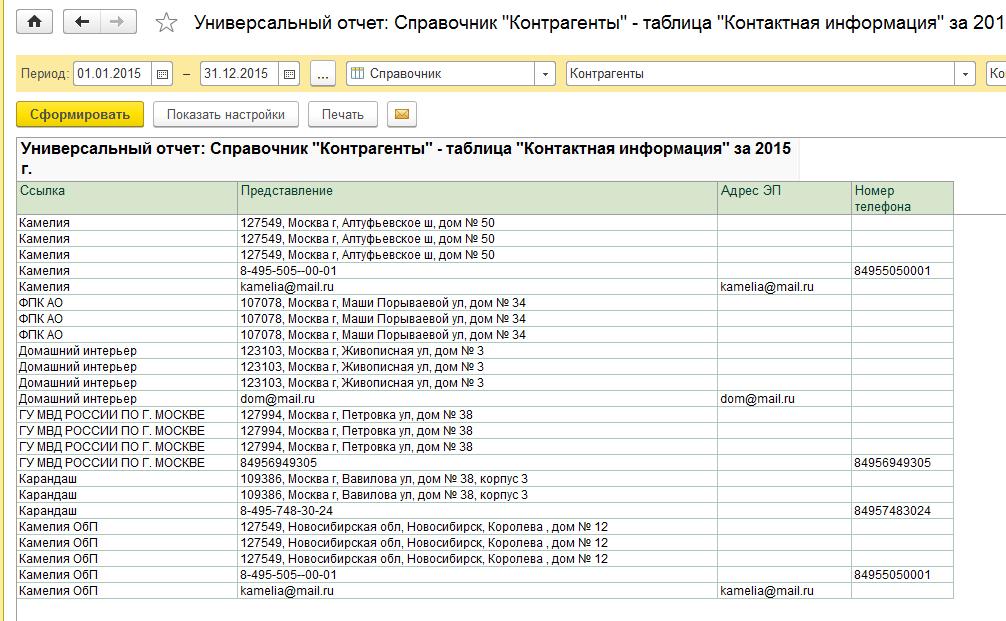 Favorites вывести список контрагентов с расчетными счетами в 1с7 соответствии санитарным законодательством
