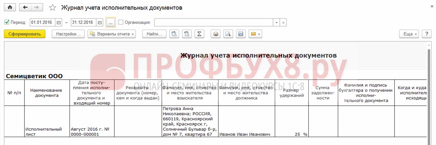 Порядок учета исполнительных листов фед служба суд приставов банк