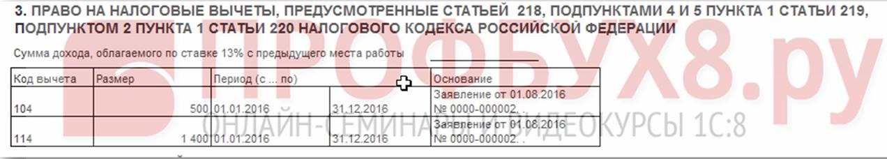 Регистр налогового учёта по НДФЛ пункт 3